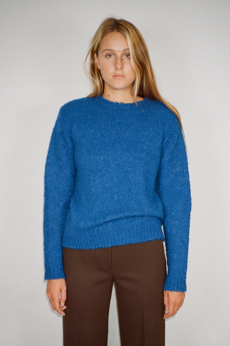 Bebe Sweater in Cobalt
