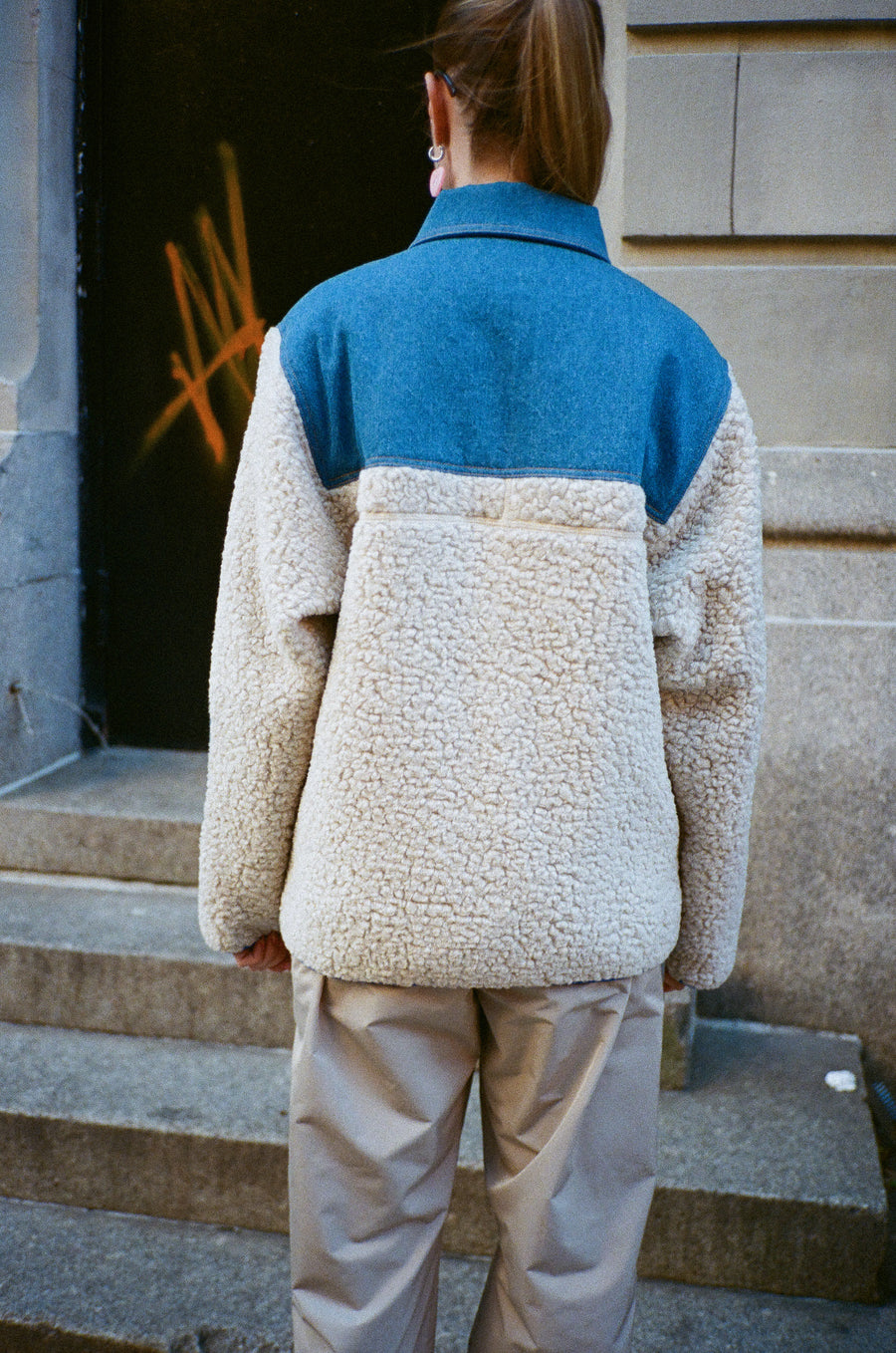 Dorne Fleece in Creamy
