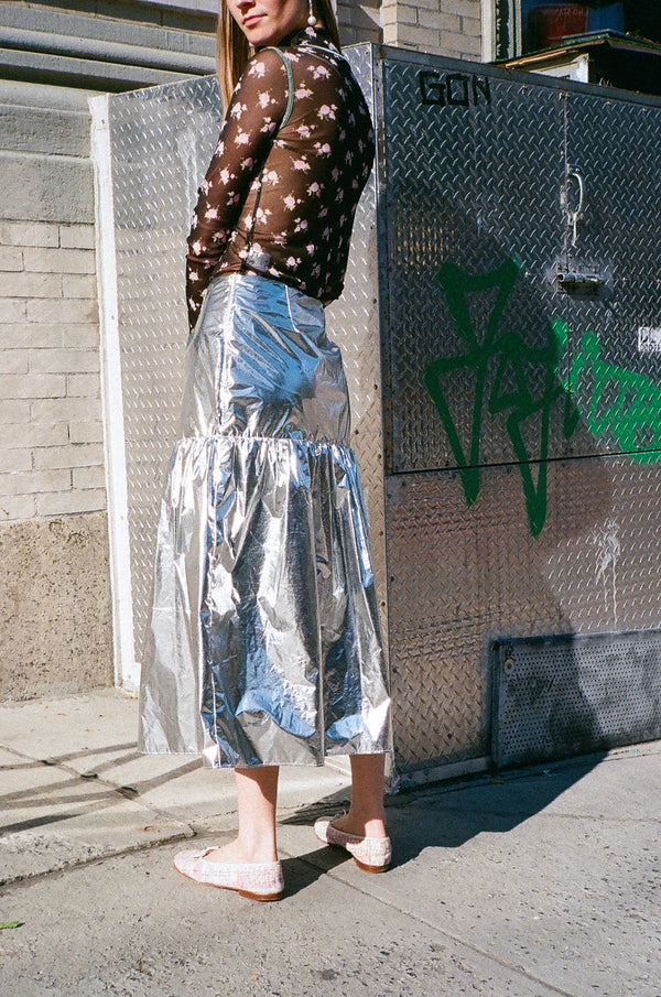 Salve Skirt in Sterling