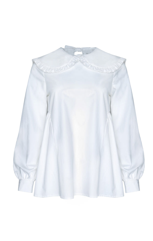 DEPOSIT: Laurie Top in White