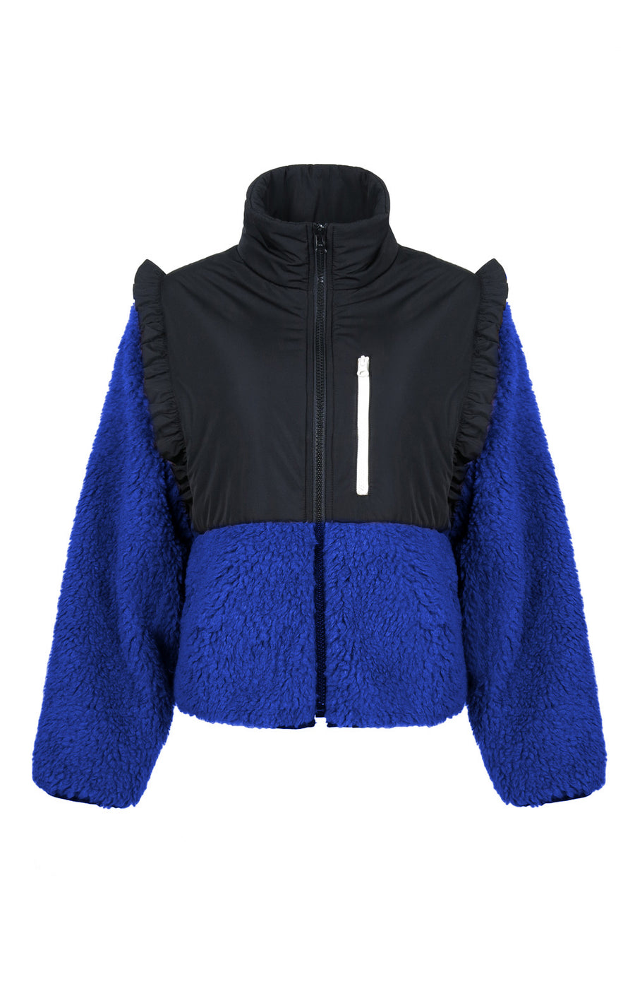 DEPOSIT: Mia Fleece in Cobalt