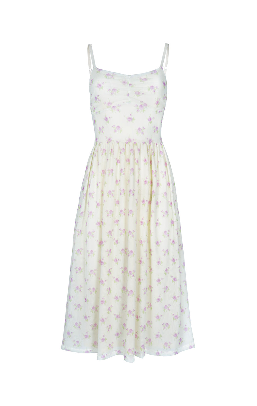 Misty Dress in Cream Tablecloth