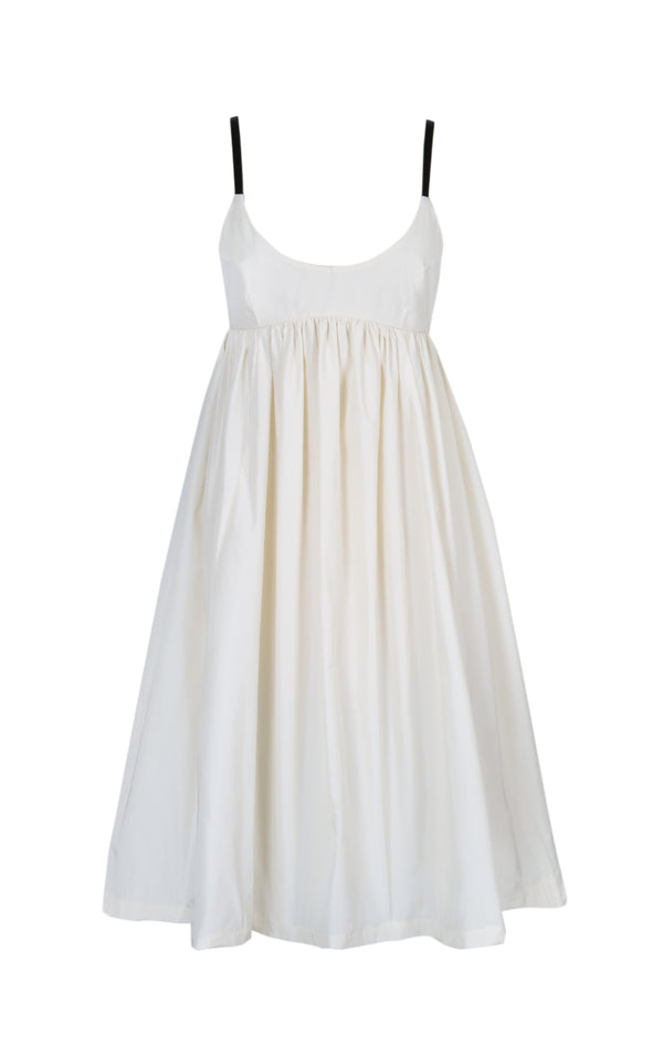DEPOSIT: Camden Dress in Panna Cotta