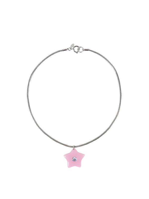 Sparkles Necklace in Pink