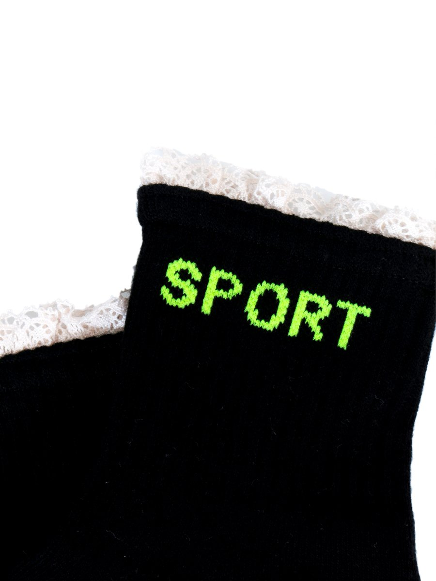Sport Socks in Black
