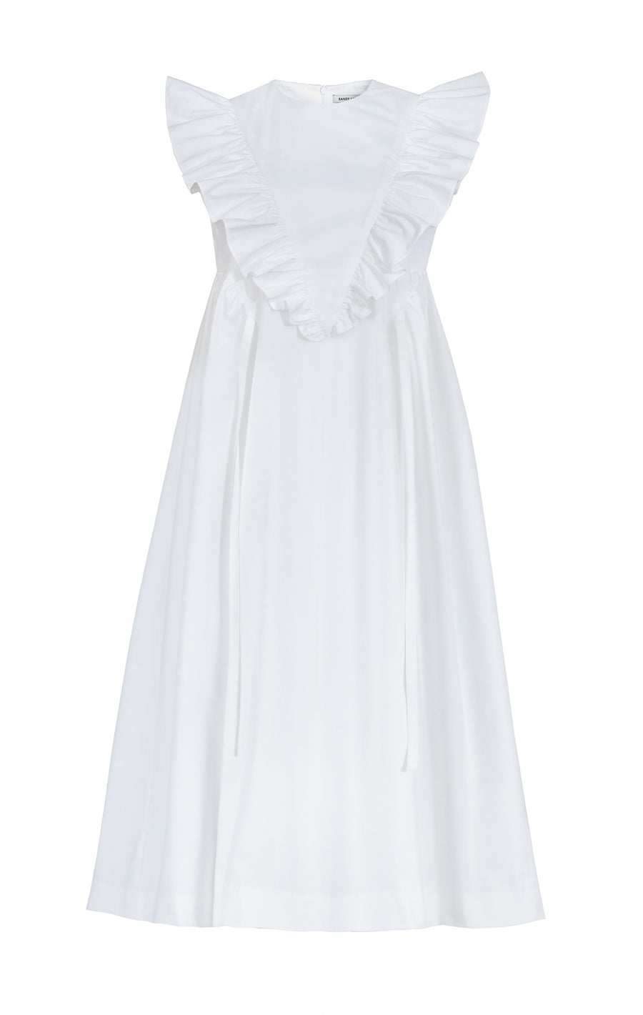 Dancey Dress in White