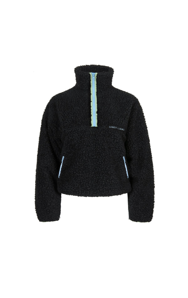 Bean Pullover in Black