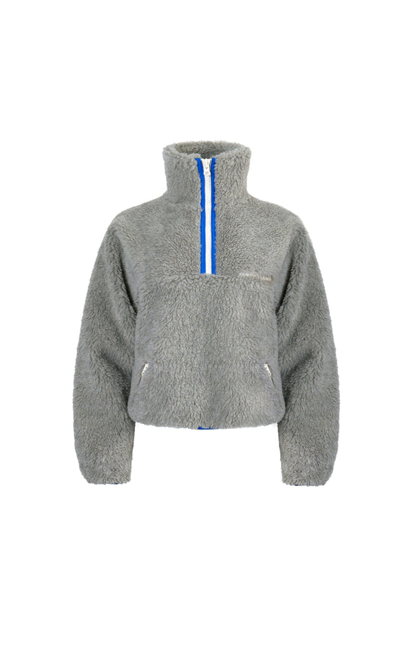 Bean Pullover in Concrete