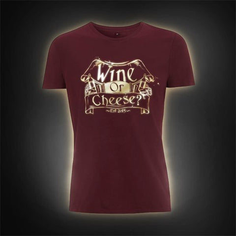 Yogscast: Hat Films (Wine or Cheese Limited Edition) T-Shirt