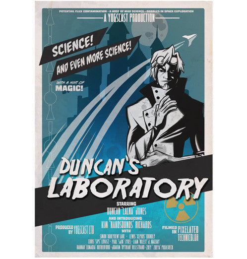 Yogscast: Duncan (Duncans Lab Movie) Poster - Yogscast