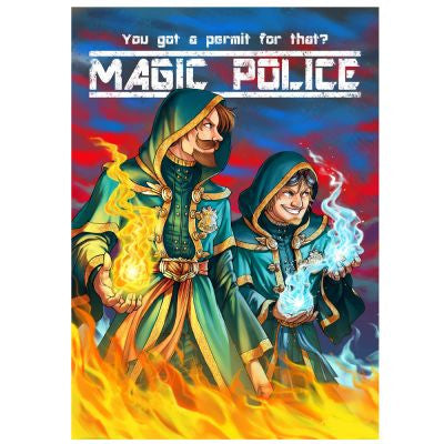 Yogscast: Sjin (Magic Police) Poster - Yogscast