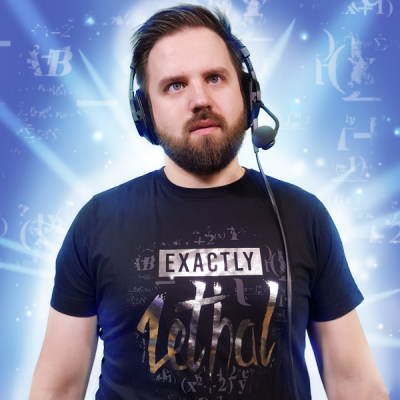 Yogscast: Turps (Exactly Lethal) T-shirt - Yogscast