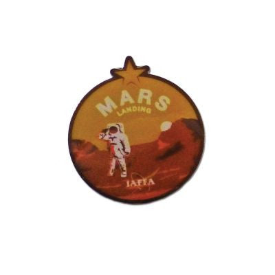 Yogscast: Lewis And Simon (Mars LAnding) Enamel Badge
