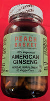 American Ginseng Root 60 caps