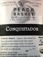 Big Bend Roasters Conquistador Coffee Organic Whole Bean 1 lb