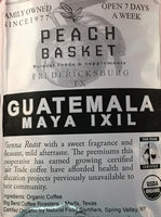 Big Bend Coffee Roasters Guatemala Coffee Organic Whole Bean 1 lb