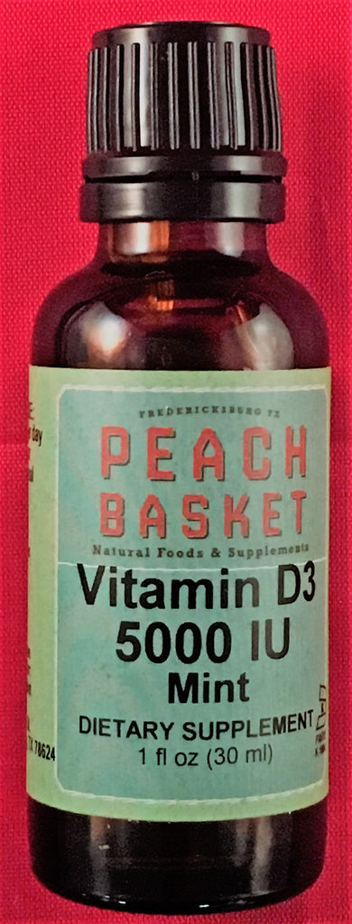 Vitamin D3 5,000 iu Mint 1 oz