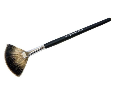 Fan Make-Up Brush