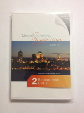 Educational DVDs - Modern Electrolysis Symposium - 02-2682
