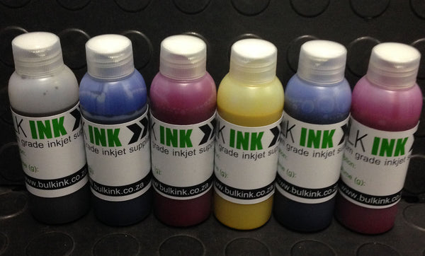Pigment based ink for use with Epson Ink Tank Printers