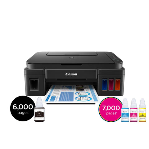 Dedicated ink for use with Canon Ink Tank Printers
