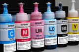Original Epson ink set CMYK LC & LM 70ml bottles (L800, L1800)