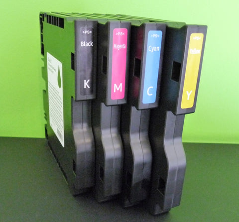 Ricoh SG2100/3100/3110/7100 Gel Ink Cartridges (Low Yield)