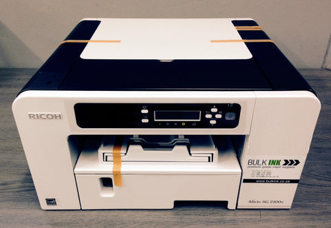 A4 Ricoh Sublimation Printer System - Refillable Cartridge Version