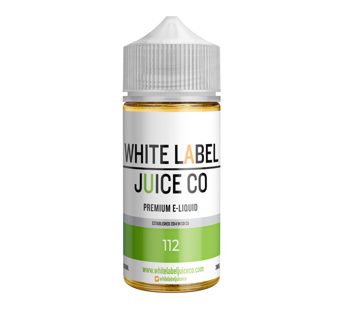 112 (Peaches & Cream) [E-Juice 100ml]