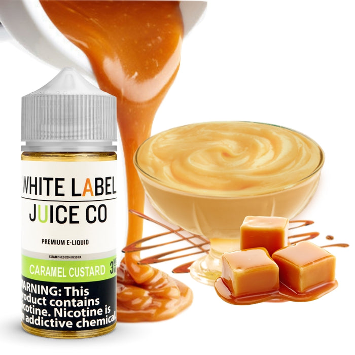 caramel custard e-juice