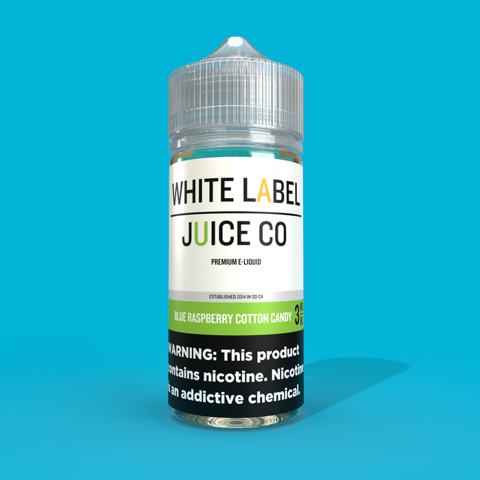 Blue Raspberry Cotton Candy [E-Juice 100ml]