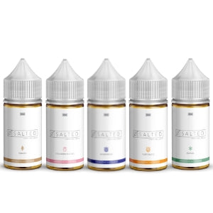 salted high nicotine e-juice