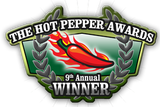 Hot Pepper Award Winner