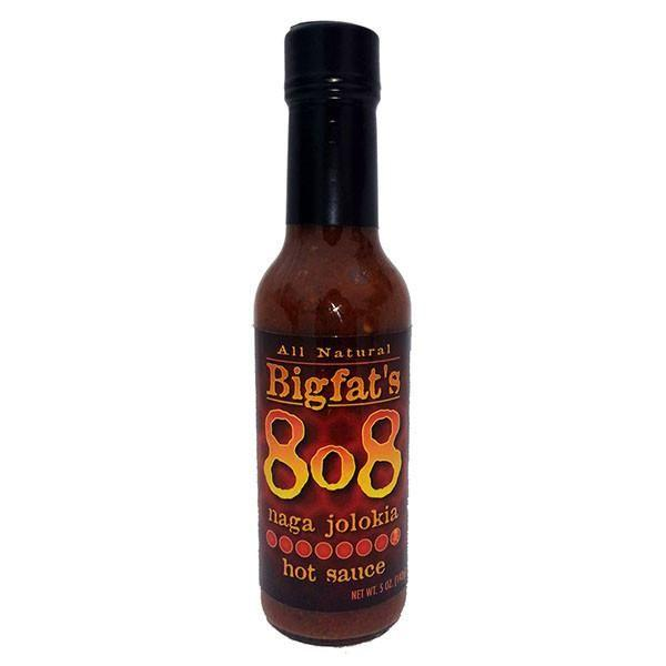 8o8 Naga Jolokia Hot Sauce - Bigfat's Heat Hot Sauce Shop
