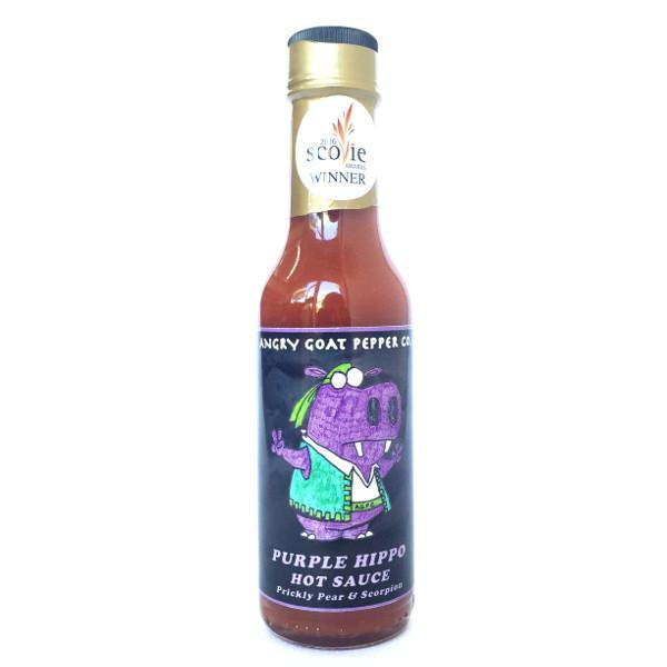 Purple Hippo - Angry Goat Pepper Co. Heat Hot Sauce Shop