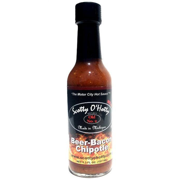 Beer Bacon Chipotle - Scotty O'Hotty Heat Hot Sauce Shop