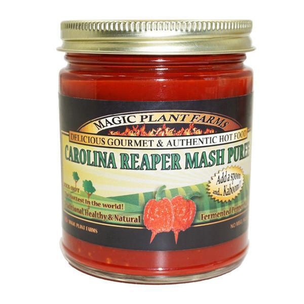 Carolina Reaper Mash - Magic Plant Farms Heat Hot Sauce Shop