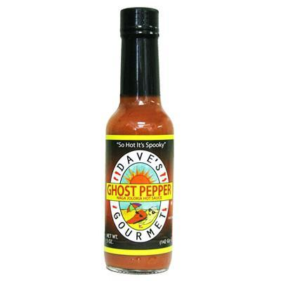Dave's Ghost Pepper Hot Sauce - Dave's Gourmet Heat Hot Sauce Shop