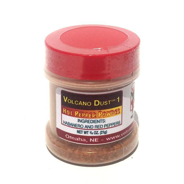 Volcano Dust 1 - Volcanic Peppers Heat Hot Sauce Shop