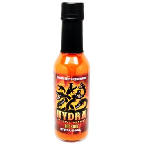 Hydra 7-Pot Primo Hot Sauce - CaJohn's Heat Hot Sauce Shop