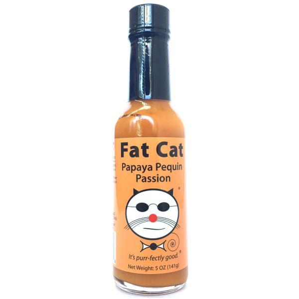 Papaya Pequin Passion - Fat Cat Heat Hot Sauce Shop