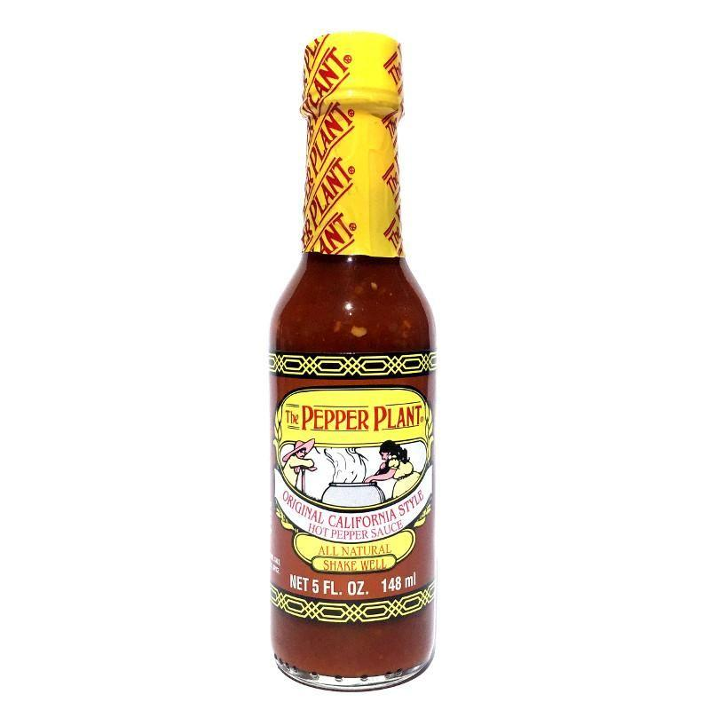 Original California Style - Pepper Plant Heat Hot Sauce Shop