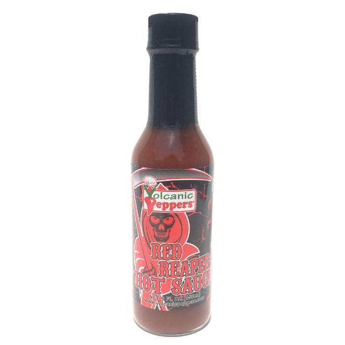 Red Reaper Hot Sauce - Volcanic Peppers Heat Hot Sauce Shop