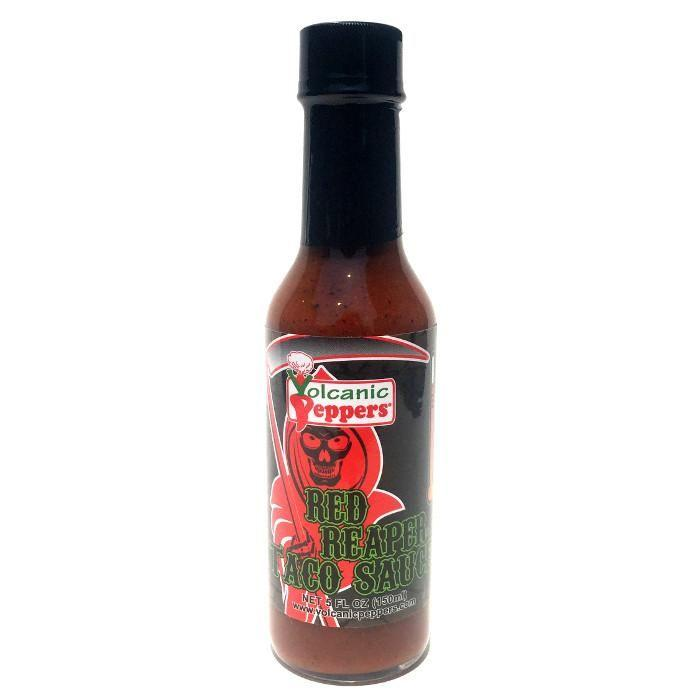 Red Reaper Taco Sauce