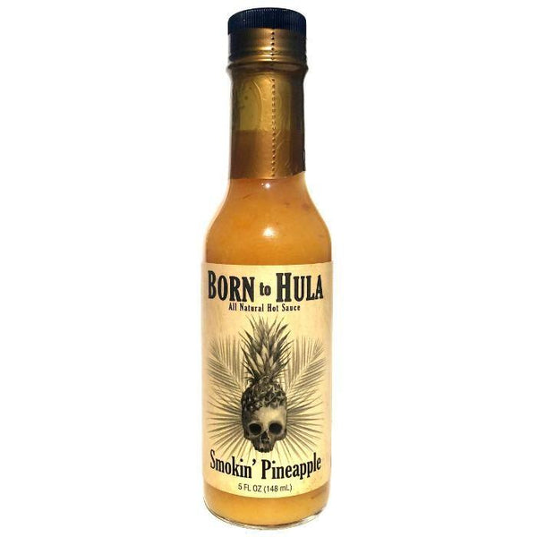 Born to Hula Smokin' Pineapple with Fatalii - Born to Hula Heat Hot Sauce Shop