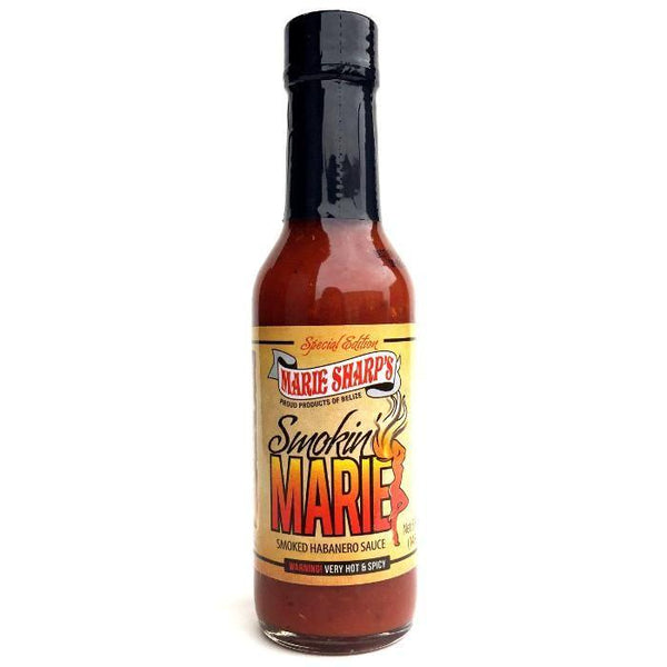 Smokin' Marie Smoked Habanero Pepper Sauce - Marie Sharp's Heat Hot Sauce Shop