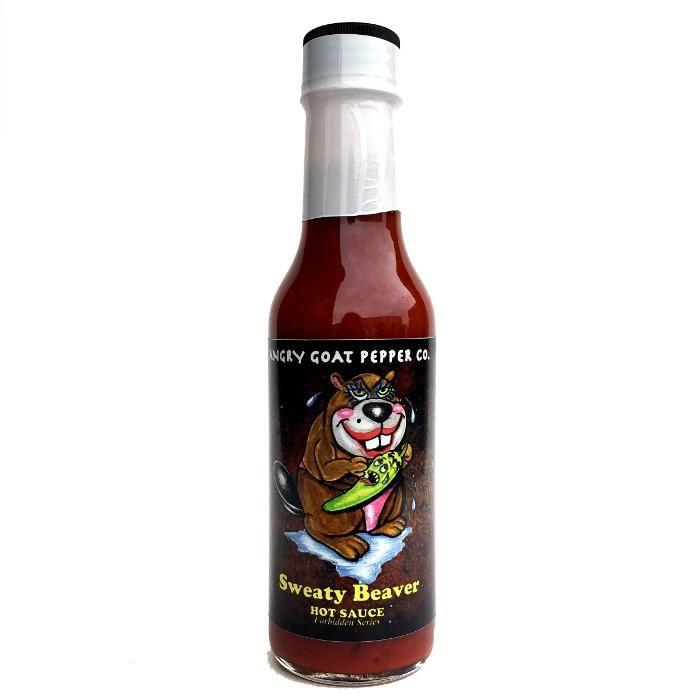 Sweaty Beaver Hot Sauce - Angry Goat Pepper Co. Heat Hot Sauce Shop
