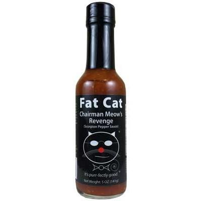 Chairman Meow's Revenge - Fat Cat Heat Hot Sauce Shop