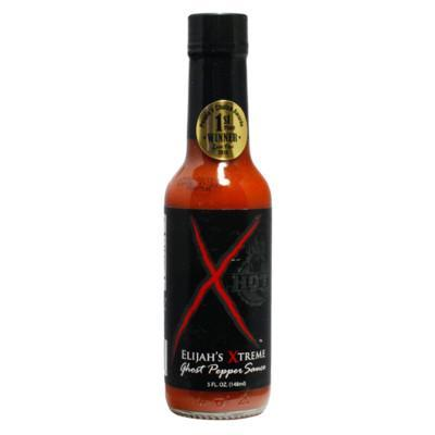 Elijah's Extreme Ghost Pepper Sauce - Elijah's Extreme Heat Hot Sauce Shop