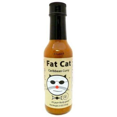 Fat Cat Caribbean Curry - Fat Cat Heat Hot Sauce Shop